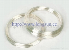 Si  er Contact Wire for Rivets