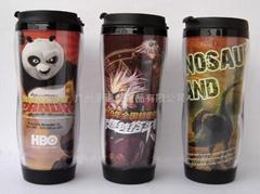 供應 隔熱 雙層 咖啡 廣告杯