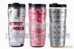 双层 广告 隔热礼品咖啡杯 带保温功能