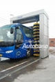 Bus wash systems