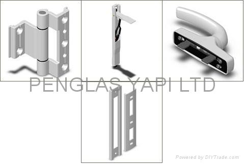 WINDOWS AND DOORS ACCESSORIES FOR PVC AND ALUMINIUM WINDOWS AND DOORS 1