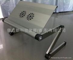 折叠床上电脑桌