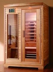 Infrared heater tube sauna room