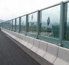 polycarbonate sheets for highway soundbarrier