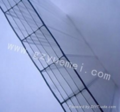 polycarbonate six-wall hollow sheet