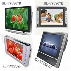 "8"" LCD DVB-T Analog TV with Card reader and USB Host"