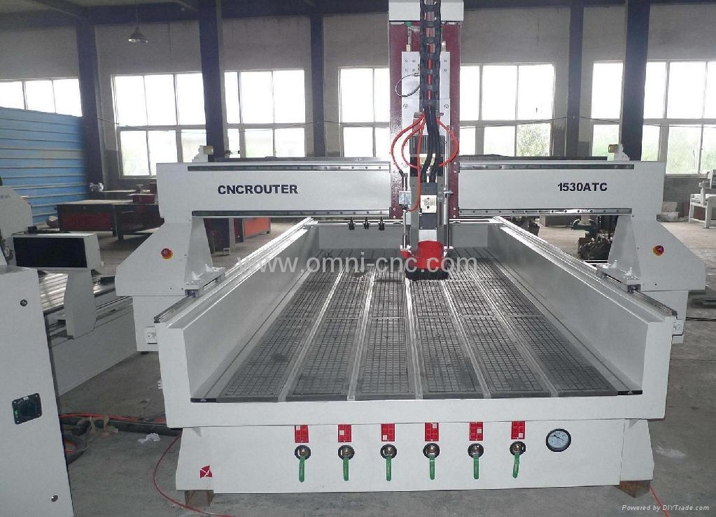 Omni 1530 Woodworking Cnc Router With Rotating Axis Omni