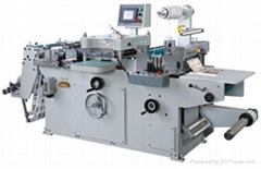 MQ-320 Full-Automatic Roll-Roll Continuous Adhesive Label Die Cutting Machine