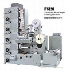 RY-320 Automatic Flexographic Printing Machine
