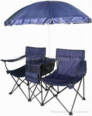 Chair with canopy
