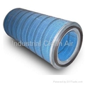 Cellulose Filter Cartridge for Dust