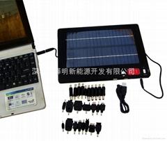 多功能太阳能笔记本电脑充电器