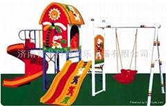 淘氣堡 組合滑梯 樂園滑梯型號023