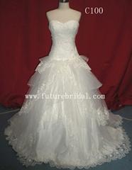 Wedding dress (C100)