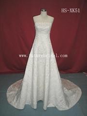 Wedding dress (HS-XK51)
