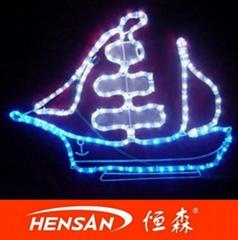 Motif rope light/holiday motif
