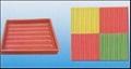 盲條彩磚模盒