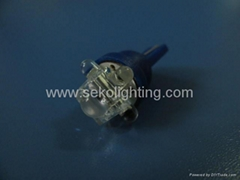 Car LED Light Bulb (T10 4LED+1FLUX)