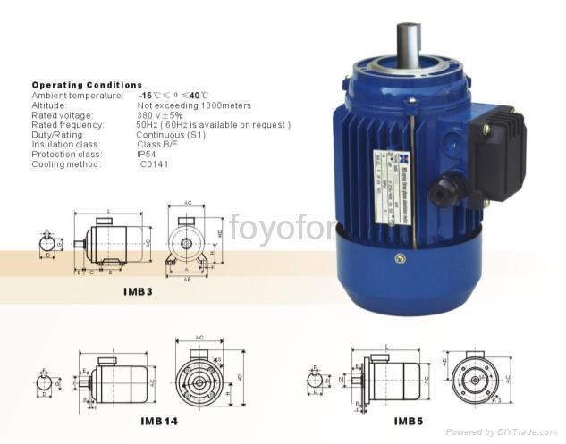MS series single-phase & three phase capacitor start induction motor -