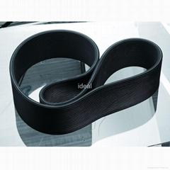double side rubber V belt & banded PK belt
