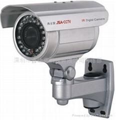 杰士安30米红外夜视网络摄像机