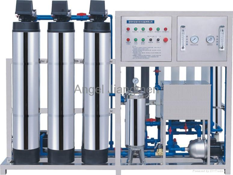 potable water treatment. Reverse Osmosis drinking water