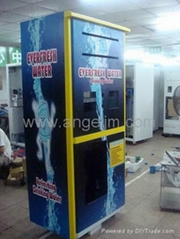 Pure water vending machine Reverse osmosis type Made with stell