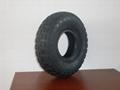供應型號為410/350-4的輪胎 1