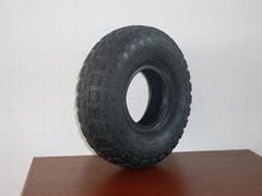 供應型號為410/350-4的輪胎