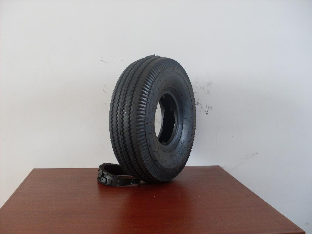 供應型號為410/350-4的輪胎 2