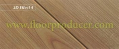 Jademask Mould Pressed V-groove Laminate Flooring