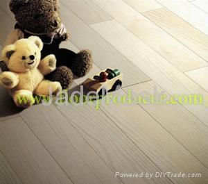 Painted V Groove Laminate Flooring 1