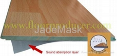 Sound Absorption Laminated Flooring
