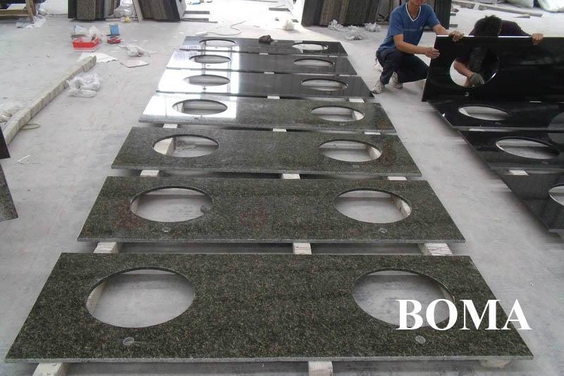 Absolute Black Granite Bathroom Countertops - BOMA (China ...