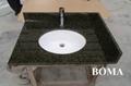 Verde Ubatuba Granite Vanity Tops