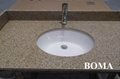 Golden Sand Granite Bathroom Counter Tops 1
