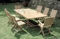 Garden furniture( oak table sets )