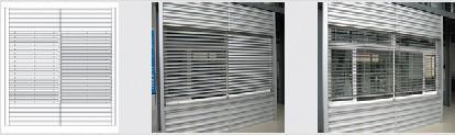 Electric (manual) blind window 1