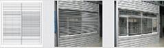 Electric (manual) blind window