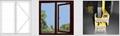 Color aluminium alloy window