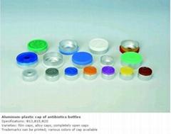 Aluminum-plastic cap of antibiotics bottles
