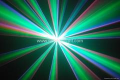 RGB full color laser light