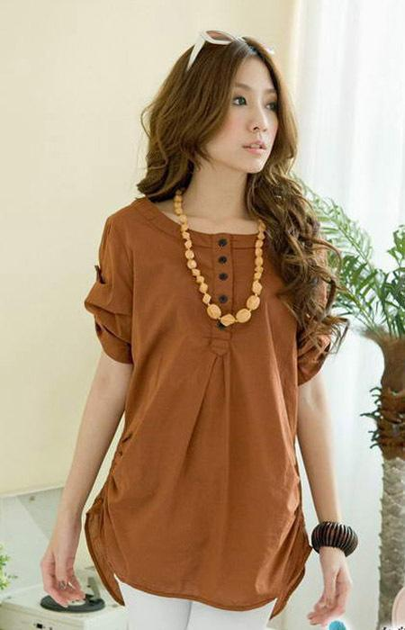 Women 39 S T Shirts Wholesale Unique Design Adjustable Sleeve
