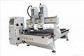 Jiaxin Two Head Four Axis CNC wood router (JX-1325-2)