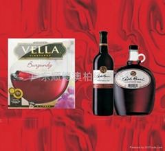 供應美國peter vella 5公升盒裝紅酒