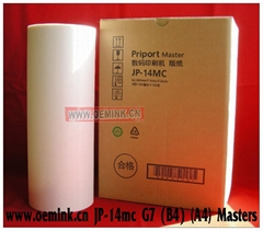 RICOH MASTER - Compatible Thermal Master - Box of 2 JP-14MC B4 A4 Masters