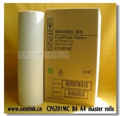 RICOH MASTER - Compatible Thermal Master - Box of 2 CP6201MC B4 A4 Masters