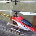 ulike三通道中型金属遥控飞机直升机 3