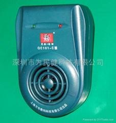 黑猫汤姆QC101-C综合型超声波驱鼠器