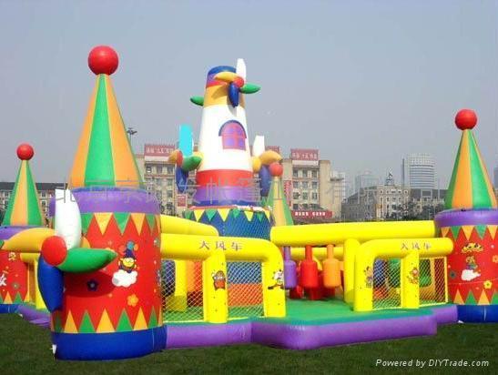 充氣城堡遊樂園 2